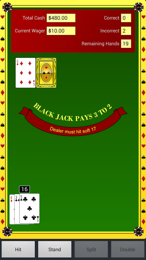 Blackjack Coach- screenshot