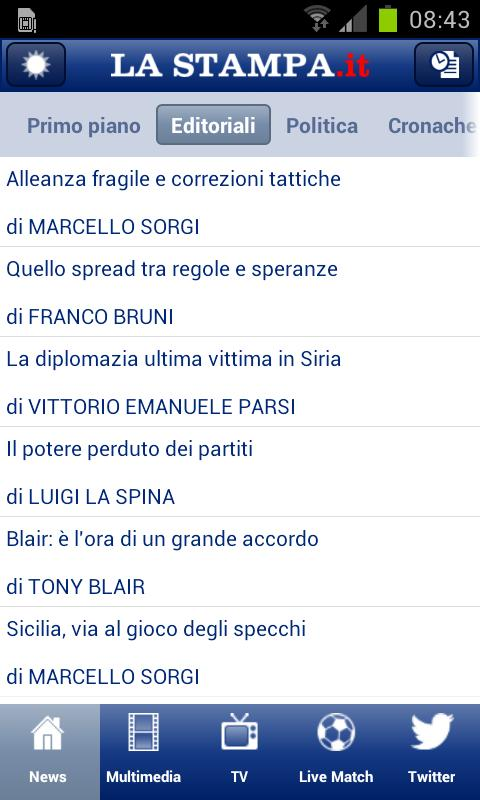 LaStampa.it- screenshot