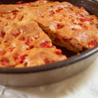 Savory Red Pepper Cake