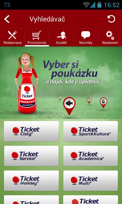Ticketka- screenshot