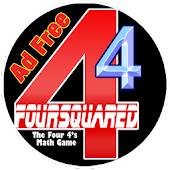 FourSquared: A 4 4s Math Game