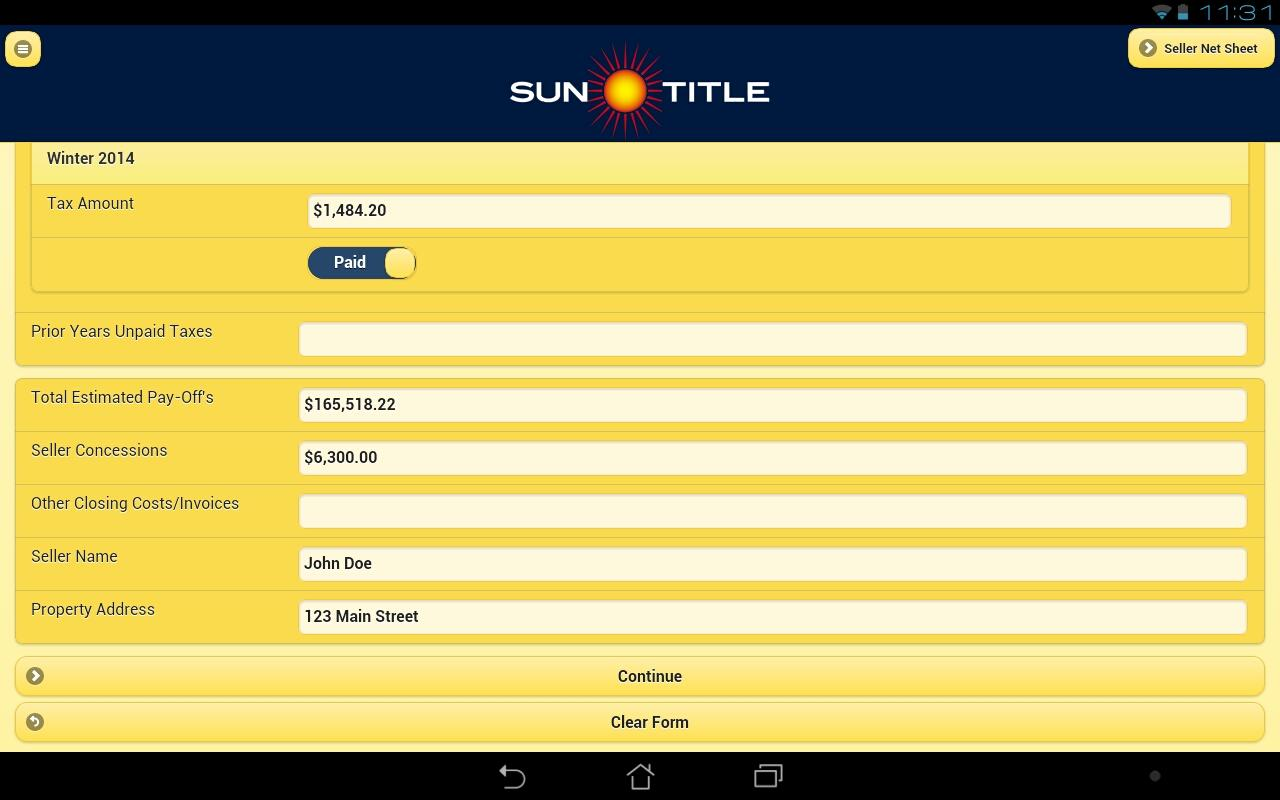 Mobile Title by Sun Title- screenshot