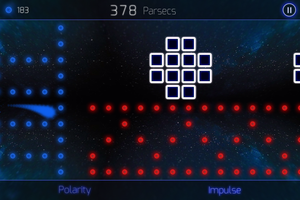 Bipolarity: space run- screenshot
