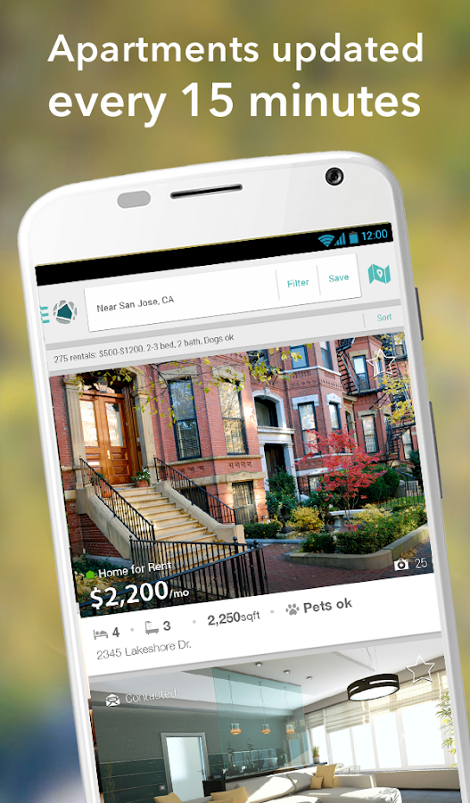 Apartment & Rental Home Search - screenshot