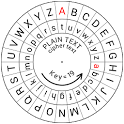 Caesar Cipher Disk icon