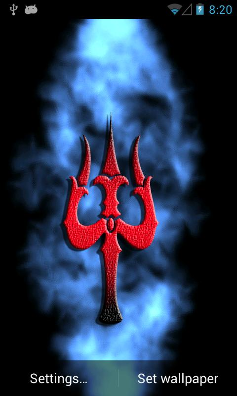 Shiv Trishul Live Wallpaper - screenshot