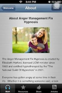 Anger Management Hypnosis App - screenshot thumbnail
