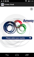 Screenshot of Amway Kiosk Europe and Russia