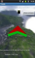 Screenshot of Qibla and Compass 3D