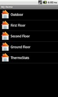 Screenshot of QW Home Automation