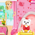 Cute Dress up Puppy Pet Salon icon