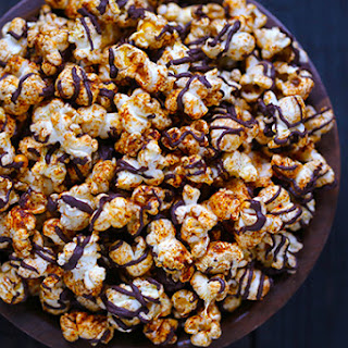 Spiced Chocolate Popcorn