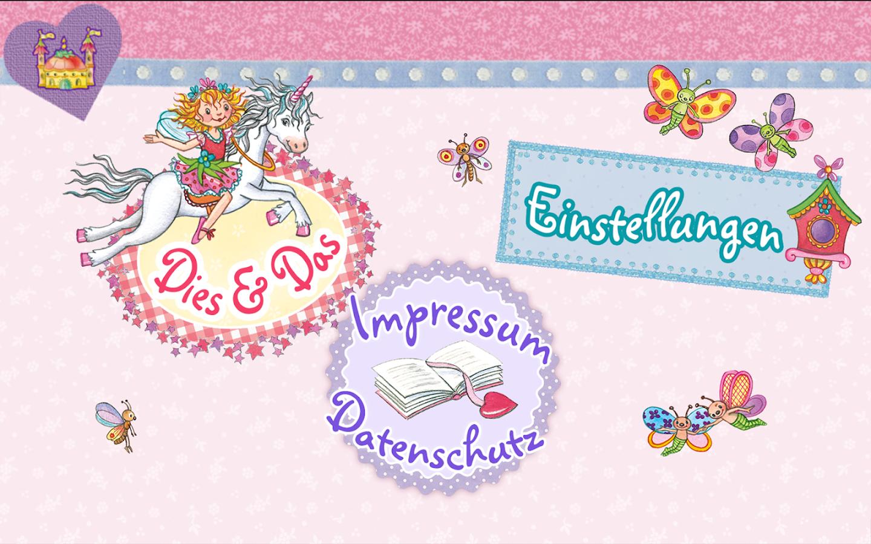 Princess lillifee coloring pages - Prinzessin Lillifee Einhorn Screenshot
