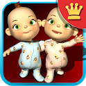 Talking Baby Twins Deluxe icon