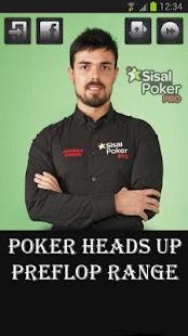 Poker Heads Up PreFlop Range