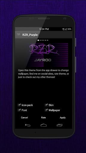 RZR_Purple - Icon Pack