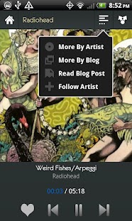 UberHype for Hype Machine Screenshot 6