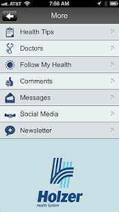 Holzer Health System- screenshot thumbnail