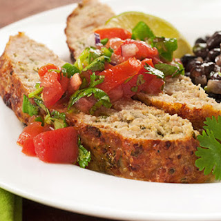 Green Chile Turkey Meatloaf.