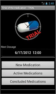 Time of the Medication - Trial - screenshot thumbnail