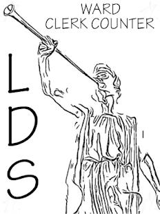 LDS Ward Clerk Counter