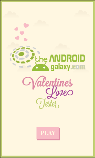 Valentines Love Tester