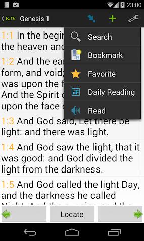 Bible KJV Screenshot