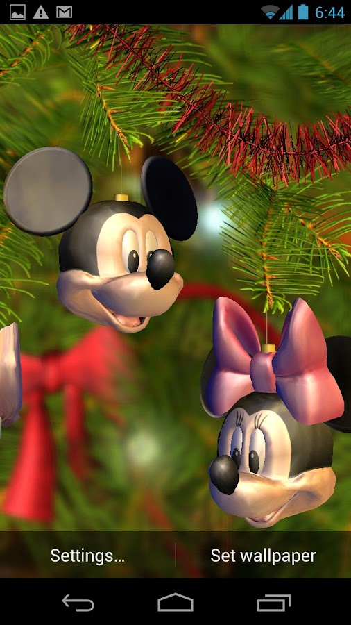 Disney Christmas Tree - screenshot