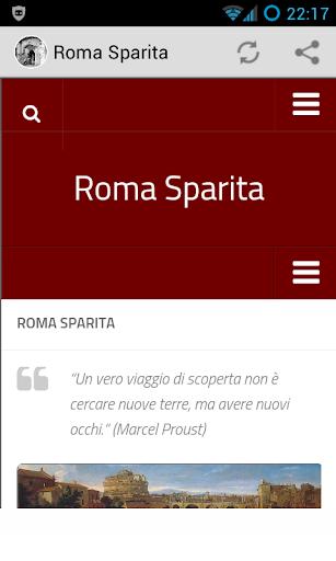 Roma Sparita Mobile
