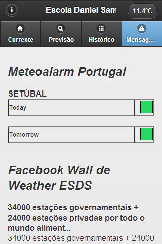 Weather ESDS - screenshot