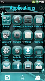 Cyanogen Theme for ssLauncher- screenshot thumbnail