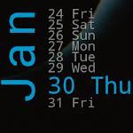 Xperia Calendar Widget 2.80