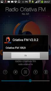 Radio Criativa FM Screenshot 3