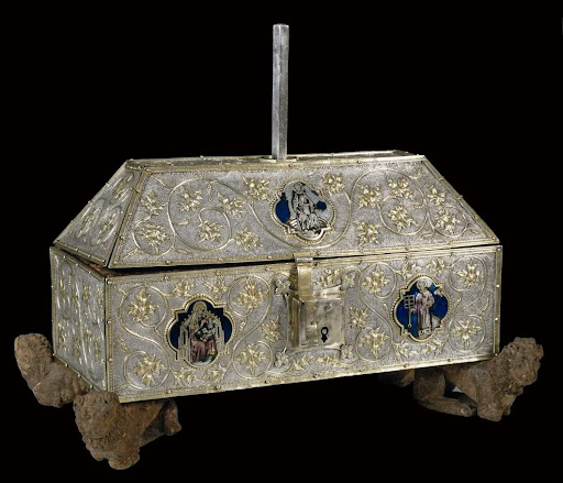 Saint Lawrence casket