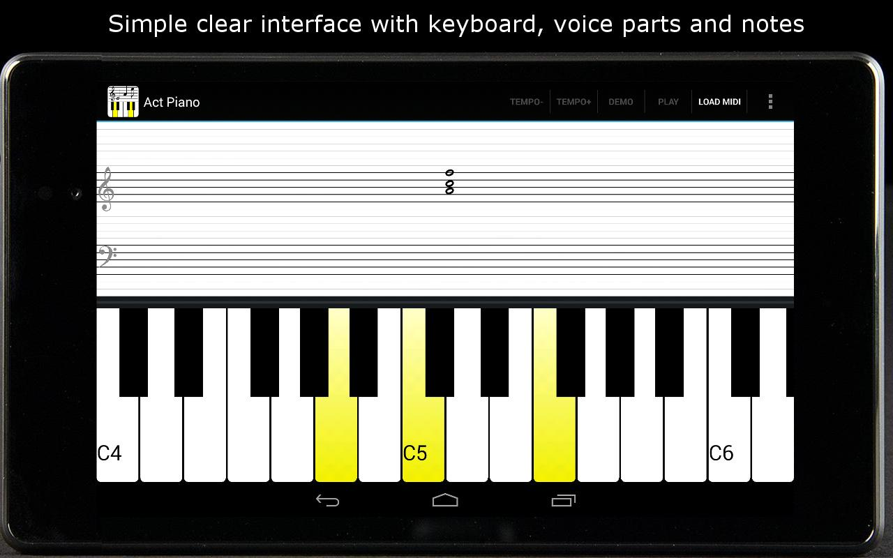 Act Piano- screenshot