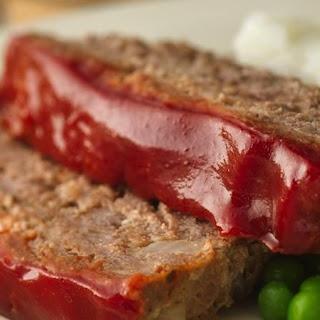 Gluten-Free Glazed Meat Loaf.