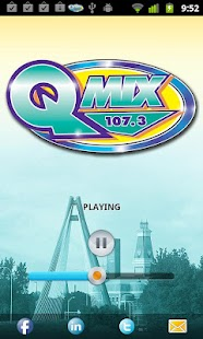 QMIX 107.3 - screenshot thumbnail