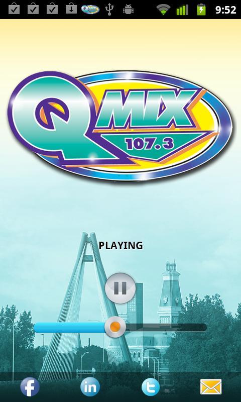 QMIX 107.3. - screenshot