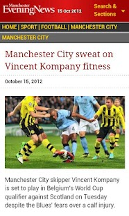 Manchester Evening News - screenshot thumbnail
