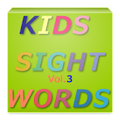 KIDS SIGHT WORDS Vol.3