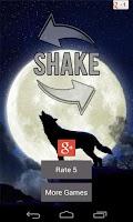 Screenshot of Wolf Howl Sound Shake