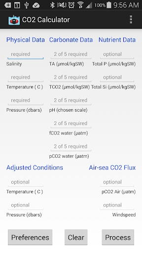 CO2 Calculator Aplicaciones (apk) descarga gratuita para Android/PC/Windows screenshot