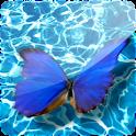 3D Butterfly III logo