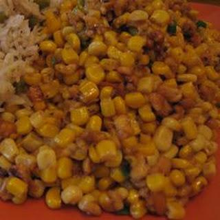 Sweet Corn Subji With Paneer and Cashew Nuts