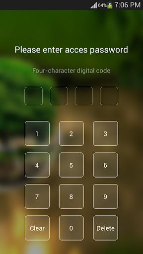 2018HD Green Nature Cartoon Theme for android free 3.9.14 screenshots 2