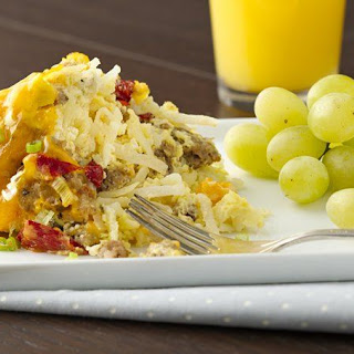 Slow-Cooker Sausage and Egg Breakfast Casserole Recipe