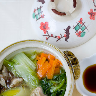 Tori No Mizutaki—Chicken & Vegetable Hot Pot