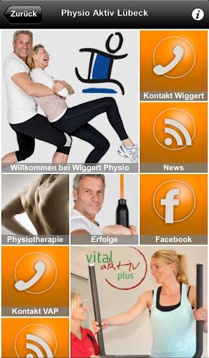 Physiotherapiepraxis Wiggert 1.6.5 screenshots 1