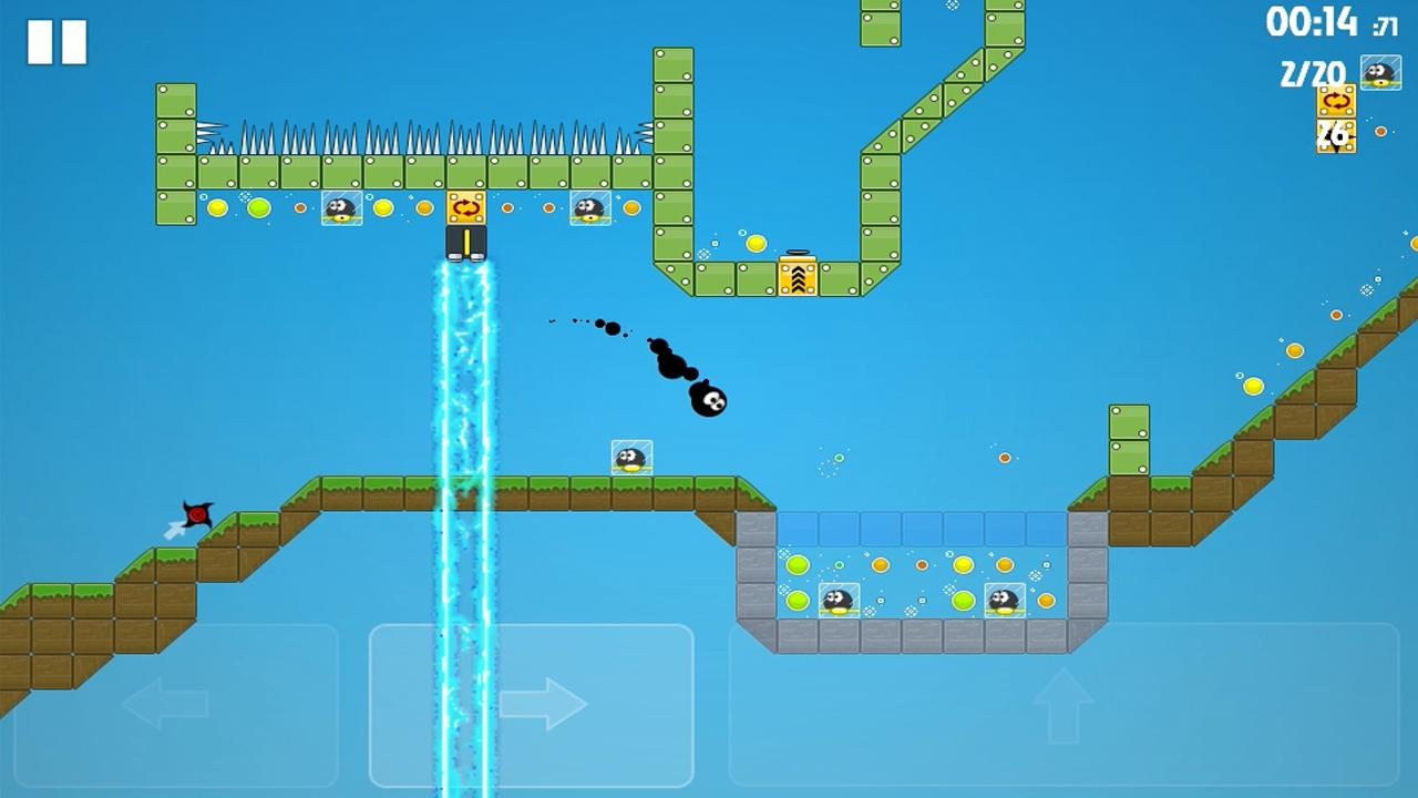 14px | Ultimate platformer - screenshot