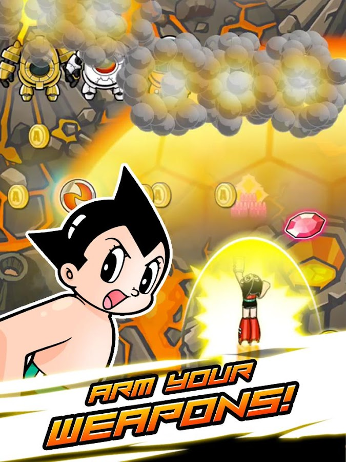 Astro Boy Flight!- screenshot
